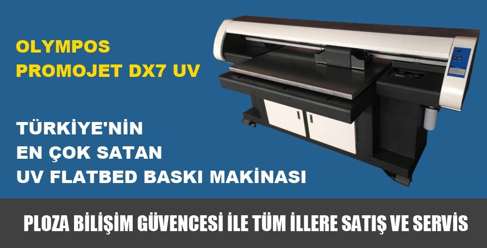 Olympos Promojet Dx7 Uv Baskı Makinası Fiyatı